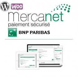 Module Official BNP Paribas - Mercanet pour WooCommerce Wordpress (Official))