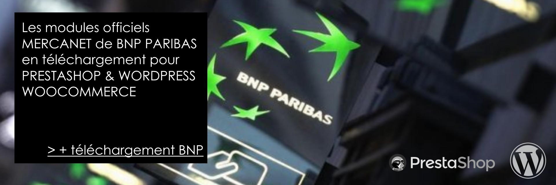 Module de paiement BNP MERCANET