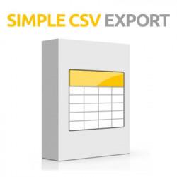 Simple Csv Export